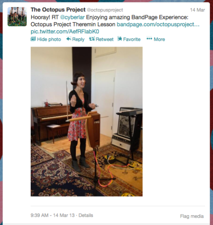 The Octopus Project Retweets a Fan