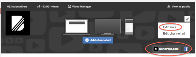 How to set up your YouTube One Channel