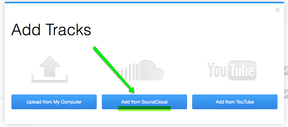 how to add sound file to qlab